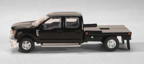 1/64 Ford F-250 Flatbed Black