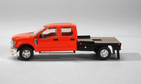 1/64 Ford F-250 Flatbed Red