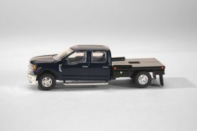 1/64 Ford F-250 Flatbed Blue