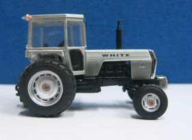 1/64 White 2-85 2WD with Cab