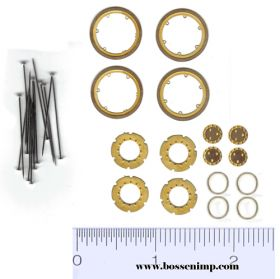 1/64 Banded Dual Wheel Detail Kit for 38 & 42 inch dual rims