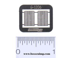 1/64 Grille IH 1206 Set of 2 Photo Etched