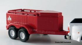 1/64 Fuel trailer 600 gallon red