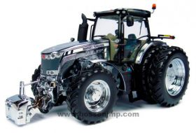 1/32 Massey Ferguson 8737 MFD w/duals Chrome Edition