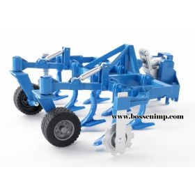 1/16 Cultivator front mount blue