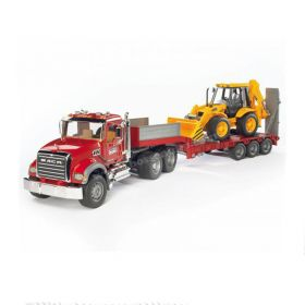 1/16 Mack Granite semi with JCB Backhoe