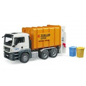 1/16 MAN TGA Garbage Truck orange