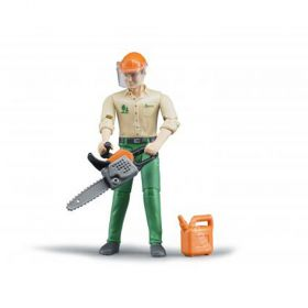 1/16 Forestry Worker w/accessories