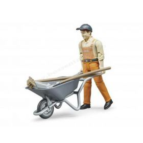 1/16 Municipal worker with accessories