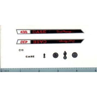 Decal 1/16 Case 430 Dual Range Set