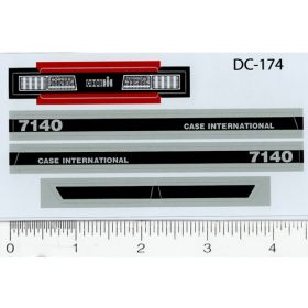 Decal 1/16 Case IH 7140 Side Panels (early version)