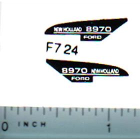 Decal 1/64 New Holland 8970 Hood Stripe