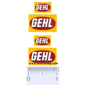 Decal Gehl Logo (Pairs)