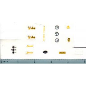 Decal 1/16 Massey Harris Deluxe Conversion Set