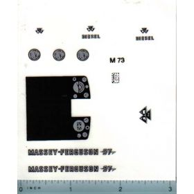 Decal 1/16 Massey Ferguson 97 Set