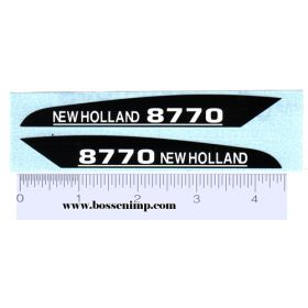 Decal 1/16 New Holland 8770 Hood Panels