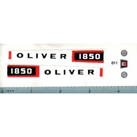 Decal 1/16 Oliver 1850 Set
