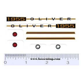Decal 1/16 Oliver 1955 Set