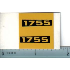 Decal 1/16 Oliver 1755 Model Numbers