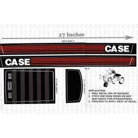 Decal Case 94 Series Pedal Tractor