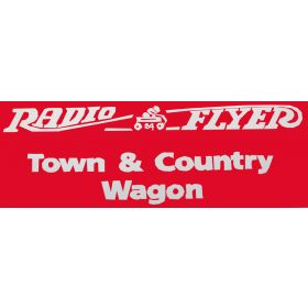 Decal Radio Flyer 24 Wagon (Town & Country)