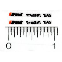 Decal 1/64 Brandt Grainbelt 1545 (Pair)