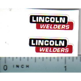 Decal 1/16 Lincoln Welders