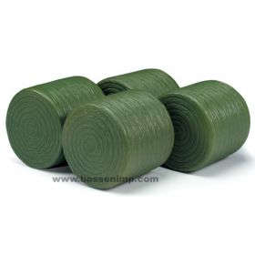 1/16 Bale Round Hay Package of 4 Plastic