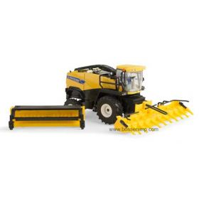 1/64 New Holland Forage Harvester FR-850 with 2 Heads