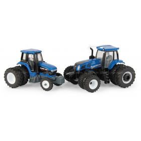 1/64 New Holland T8.435  & Ford 8970 2018 Farm Show