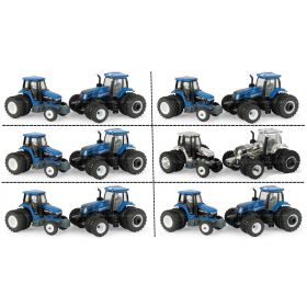 1/64 New Holland T8.435  & Ford 8970 2018 Farm Show Carton of 6