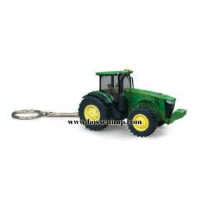 1/128 John Deere 8R Series Tractor Key Chain