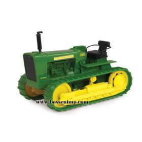 1/16 John Deere Crawler 2010 green with rubber track