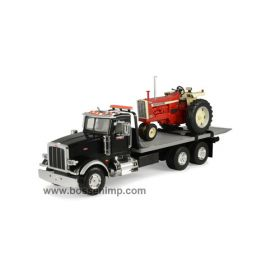 1/16 Big Farm Peterbilt 367 Flatbed w/IH 1206 NF