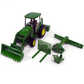 1/16 Big Farm John Deere 4066R with loader & accessories