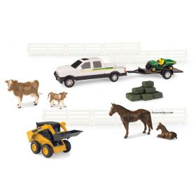 1/32 Chevy Pickup with JD Gator Utility Set