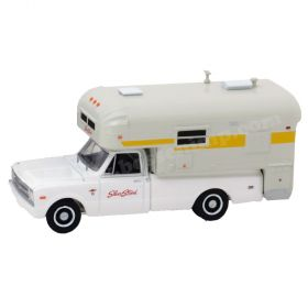1/64 Chevrolet C-20 1968 with Silver Streak Camper