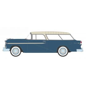 1/64 Chevrolet Nomand 1955 blue Series 1