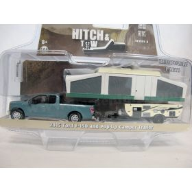 1/64 Ford Pickup F-150 2015 wtih pop up camper