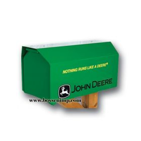 Mailbox Estate Style John Deere 'Nothing Runs Like a Deere'