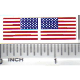 Decal 1/64 American Flag