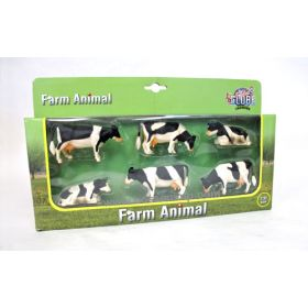 1/32 Holstein Cow Set of 6