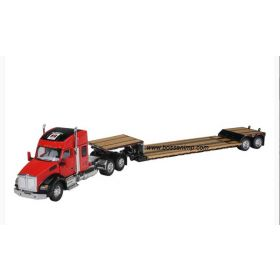 1/64 Kenworth T880 Semi with lowboy trailer Farmall