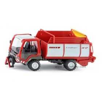 1/32 Linder Unitrac w/Forage Wagon