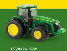 1/64 John Deere 8R 410 MFD with Front and Rear Duals