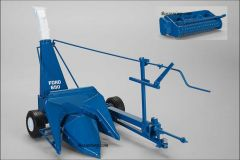 1/16 Ford Forage Harvester 680 with two heads