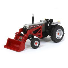 1/64 White 2-88 2WD with New Idea loader